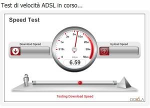 speed test: velocità di connessione