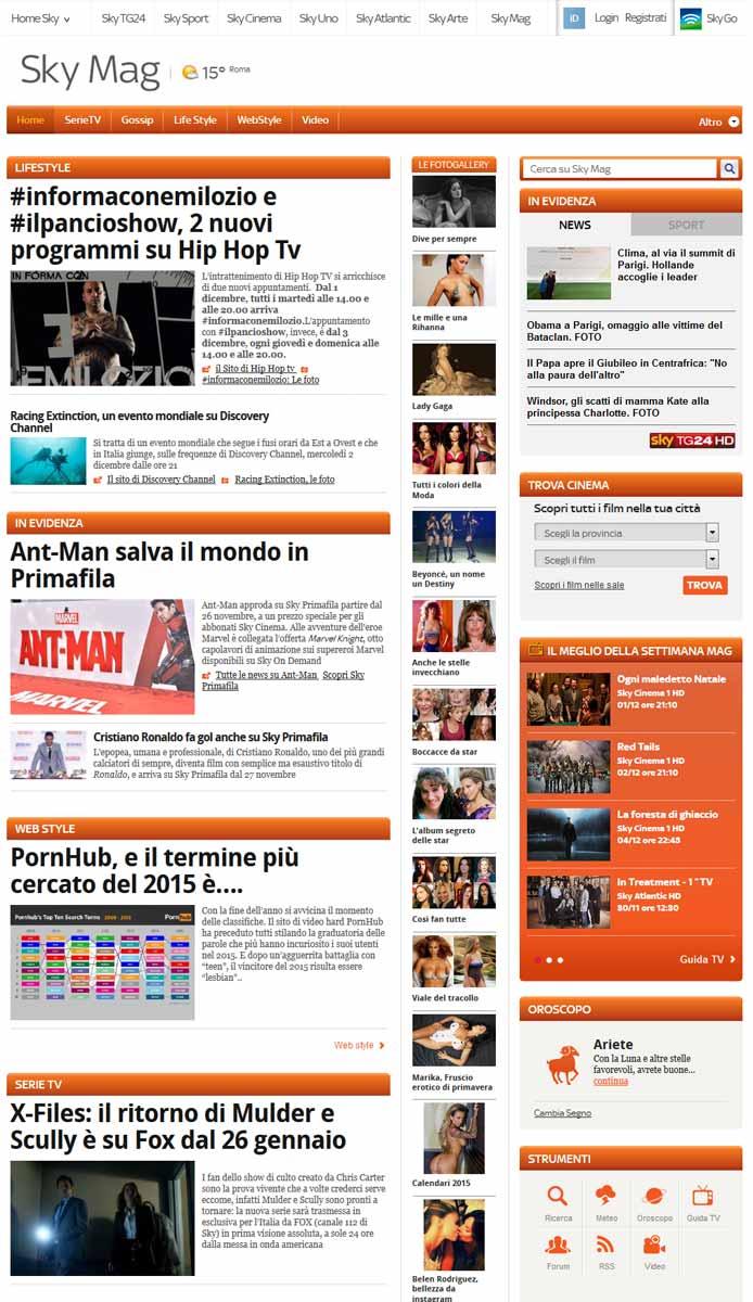 Sky Mag e le gossip news