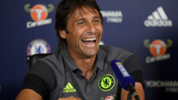 COBHAM, ENGLAND - AUGUST 12: Antonio Conte of Chelsea during a Press Conference at Chelsea Training Ground on August 12, 2016 in Cobham, England. (Photo by Darren Walsh/Chelsea FC via Getty Images)